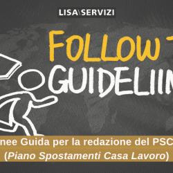 Linee Guida per la redazione del PSCL  (Piano Spostamenti Casa Lavoro)