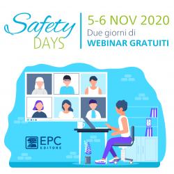 Safety Days EPC: un webinar su gestione Covid-19 e protocollo BBS a cura dell'ing. Borghetto.